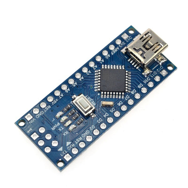 [variant_title] - 10PCS Promotion Funduino Nano 3.0 Atmega328 Controller Compatible Board for Arduino Module PCB Development Board without USB