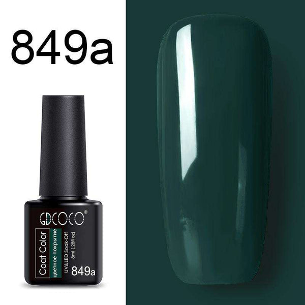 849a - #86102 GDCOCO 2019 New Arrival Primer Gel Varnish Soak Off UV LED Gel Nail Polish Base Coat No Wipe Top Color Gel Polish