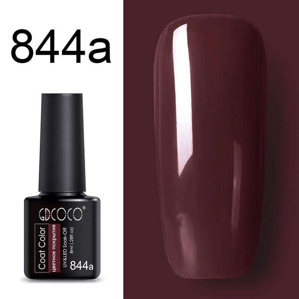 844a - #86102 GDCOCO 2019 New Arrival Primer Gel Varnish Soak Off UV LED Gel Nail Polish Base Coat No Wipe Top Color Gel Polish