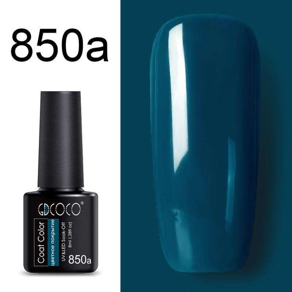 850a - #86102 GDCOCO 2019 New Arrival Primer Gel Varnish Soak Off UV LED Gel Nail Polish Base Coat No Wipe Top Color Gel Polish