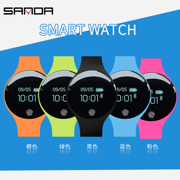 [variant_title] - SANDA Bluetooth Smart Watch for IOS Android Men Women Sport Intelligent Pedometer Fitness Bracelet Watches for iPhone Clock Men