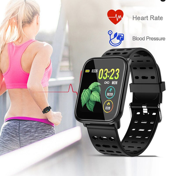 [variant_title] - 2019 BANGWEI Smart Sport Men Watch IP67 Waterproof Fitness Bluetooth Watches Pedometer Tracker Heart Rate Monitoring Smart Watch