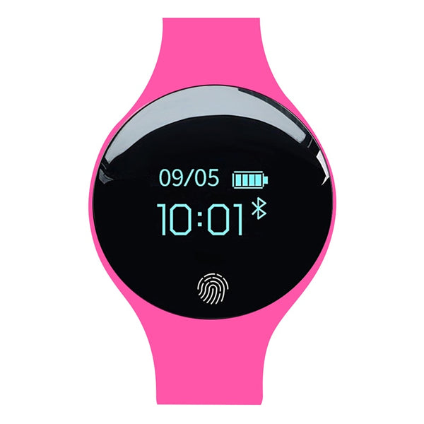 SD01 pink - SANDA Bluetooth Smart Watch for IOS Android Men Women Sport Intelligent Pedometer Fitness Bracelet Watches for iPhone Clock Men
