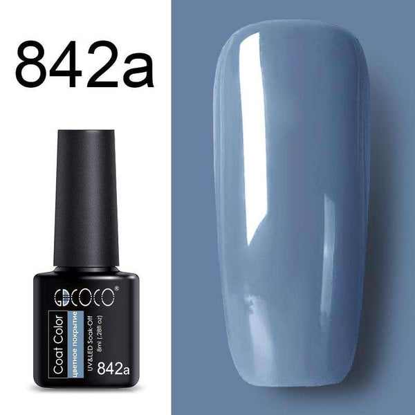 842a - #86102 GDCOCO 2019 New Arrival Primer Gel Varnish Soak Off UV LED Gel Nail Polish Base Coat No Wipe Top Color Gel Polish