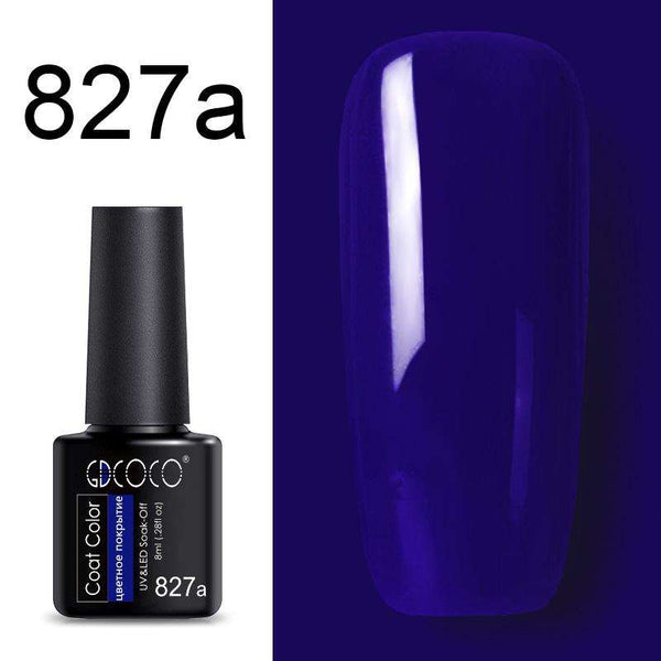 827a - #86102 GDCOCO 2019 New Arrival Primer Gel Varnish Soak Off UV LED Gel Nail Polish Base Coat No Wipe Top Color Gel Polish