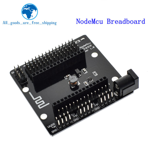 NodeMcu Breadboard - Wireless module NodeMcu v3 CH340 Lua WIFI Internet of Things development board ESP8266 with pcb Antenna and usb port for Arduino