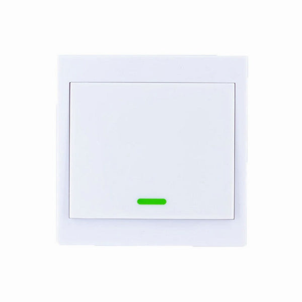 [variant_title] - 86 Wall Panel Wireless Remote Transmitter 1 2 3 Channel Sticky RF TX Smart For Home Living Room Bedroom 315 / 433 MHz