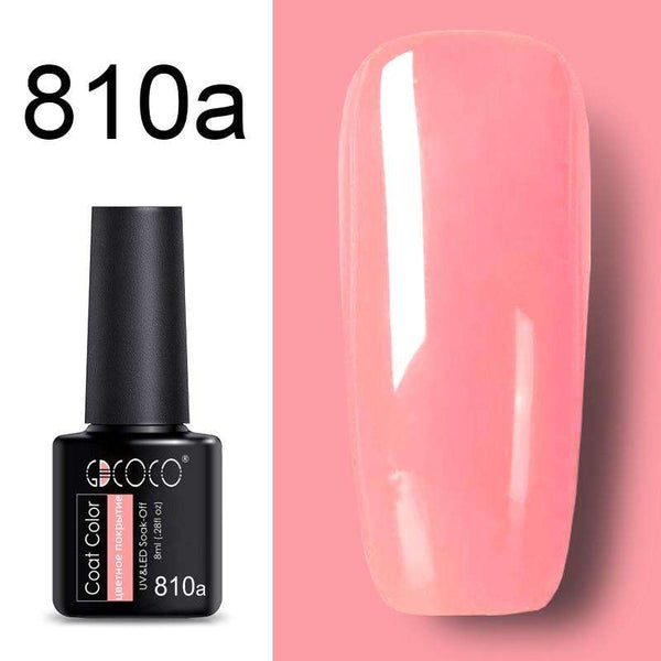 810a - #86102 GDCOCO 2019 New Arrival Primer Gel Varnish Soak Off UV LED Gel Nail Polish Base Coat No Wipe Top Color Gel Polish