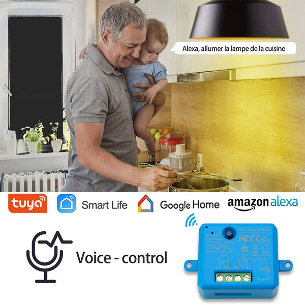 Tuya Smart Life Tiny WiFi Switch Socket Module DIY Smart