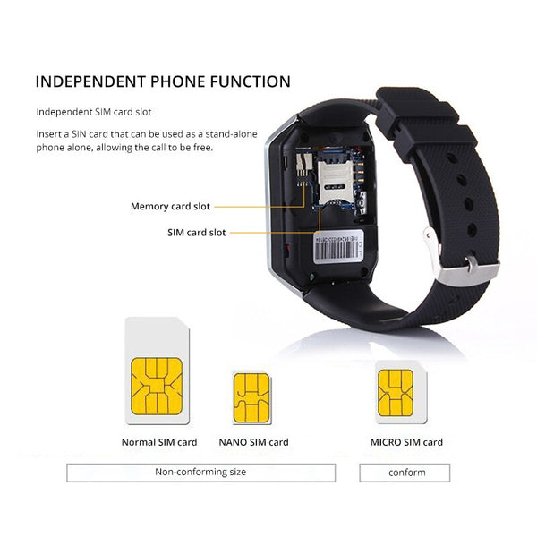 [variant_title] - New Smartwatch Intelligent Digital Sport Gold Smart Watch Pedometer For Phone Android Wrist Watch Men Women's Watch
