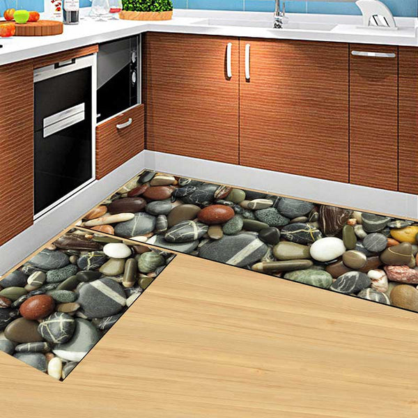 01 / 50x160cm - Kitchen Mat Cheaper Anti-slip Modern Area Rugs Living Room Balcony Bathroom Printed Carpet Doormat Hallway Geometric Bath Mat