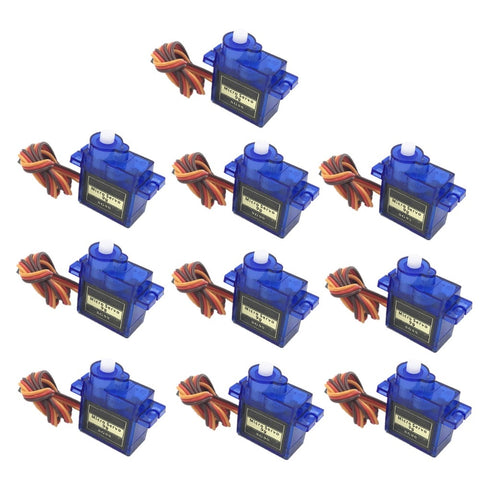 [variant_title] - 5/10pcs/lot 100% NEW Wholesale SG90 9G Micro Servo Motor For Robot 6CH RC Helicopter Airplane Controls for Arduino