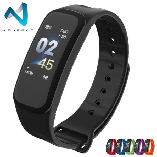 [variant_title] - Wearpai C1Plus Men Sport Watches Heart rate Blood Pressure  Sleep Monitoring FitnessTracker Digital Clock Relogio Inteligente