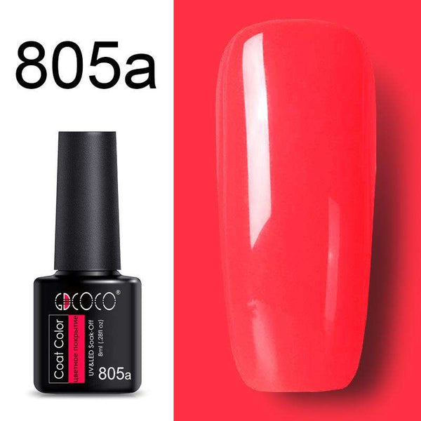 805a - #86102 GDCOCO 2019 New Arrival Primer Gel Varnish Soak Off UV LED Gel Nail Polish Base Coat No Wipe Top Color Gel Polish