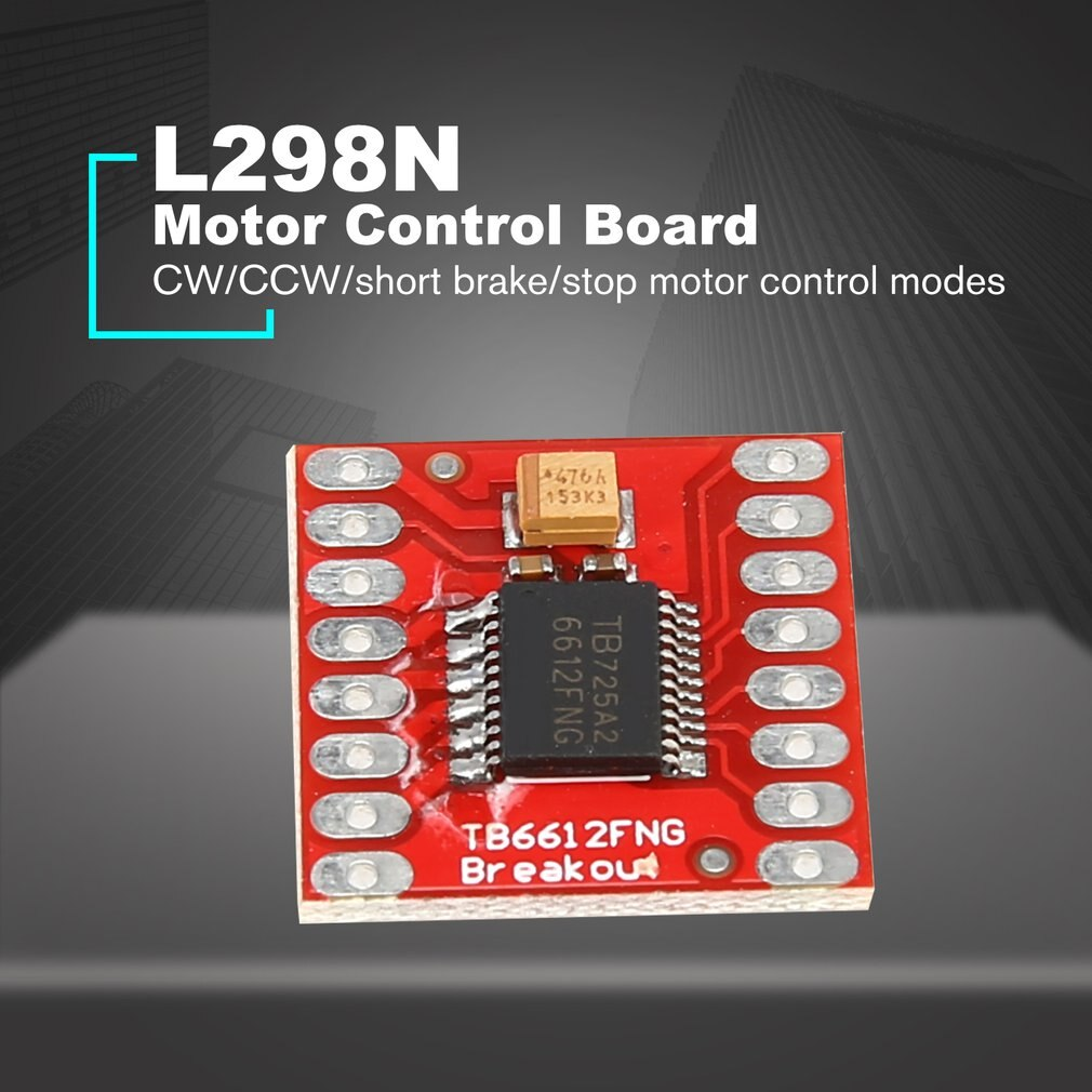 [variant_title] - TB6612FNG Dual DC Stepper Motor Control Drive Expansion Shield Board Module for Arduino Microcontroller Better than L298N