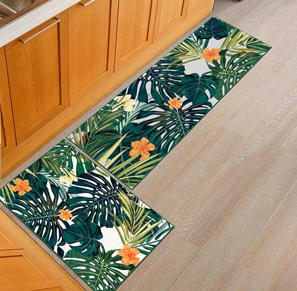 12 / 50x160cm - Kitchen Mat Cheaper Anti-slip Modern Area Rugs Living Room Balcony Bathroom Printed Carpet Doormat Hallway Geometric Bath Mat