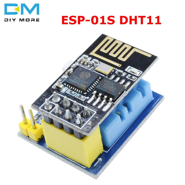 Green - ESP8266 ESP-01/ESP-01S DHT11 Serial Temperature Humidity Sensor Transceiver Receiver Module for Arduino NodeMCU Wireless WIFI