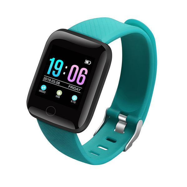 green - Hembeer D13 Smart Watch Men Women For Android Apple Phone Waterproof Heart Rate Tracker Blood Pressure Oxygen Sport Smartwatch