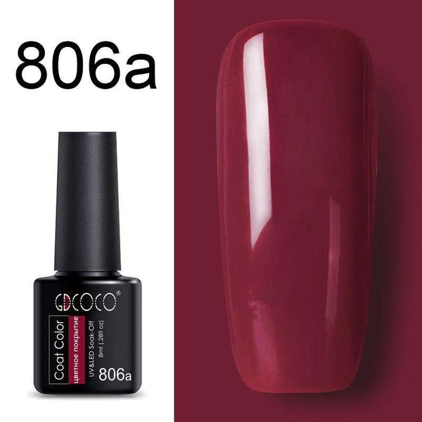 806a - #86102 GDCOCO 2019 New Arrival Primer Gel Varnish Soak Off UV LED Gel Nail Polish Base Coat No Wipe Top Color Gel Polish