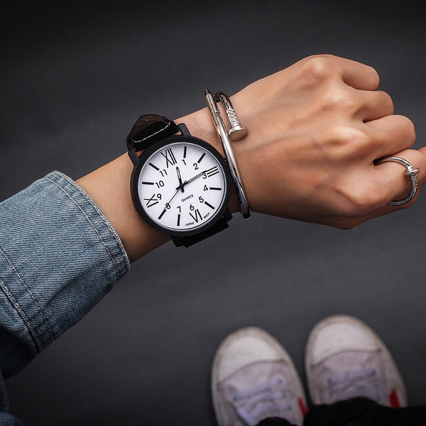 white - Hot Sale Women Bracelet Watch Female Quartz Women Watches Fashion Clock Ladies Watch Waterproof Vintage Watch Roman Numerals