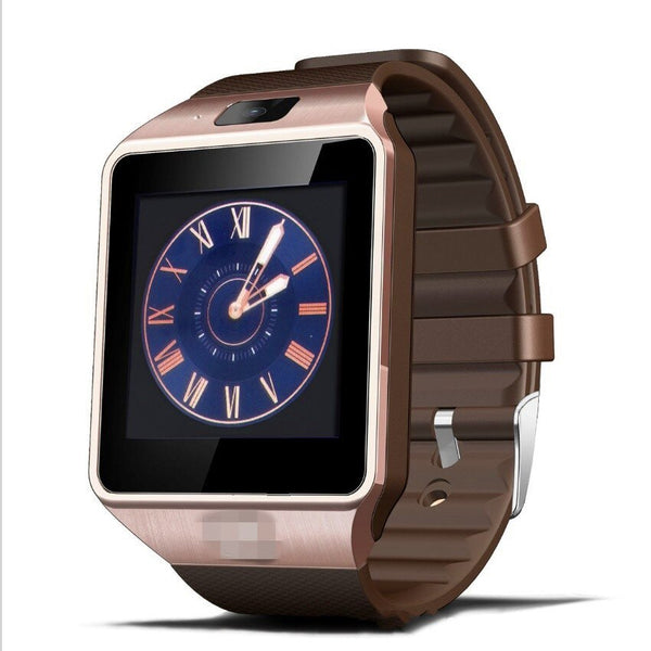 Gold - DZ09 New Smartwatch Intelligent Digital Sport Gold Smart Watch DZ09 Pedometer For Phone Android Wrist Watch Men Women's  Watch