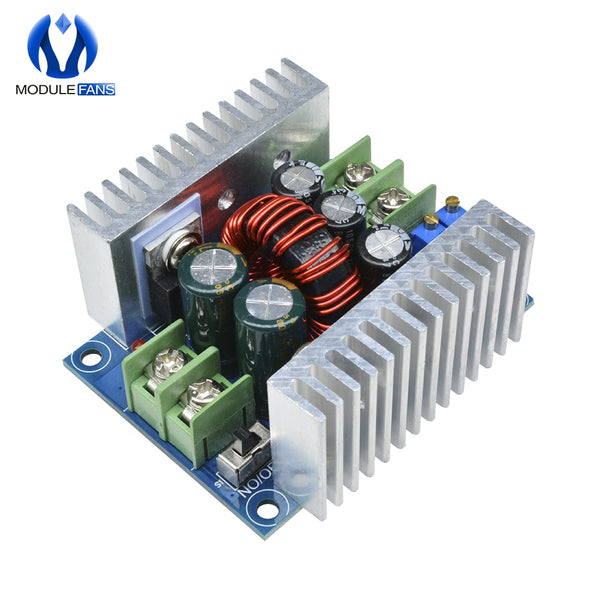 [variant_title] - 300W 20A DC-DC Buck Converter Step Down Module Constant Current LED Driver Power Step Down Voltage Module Electrolytic Capacitor