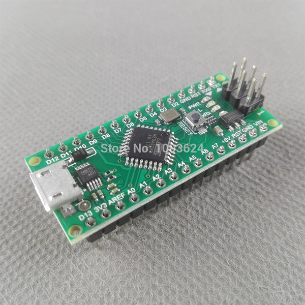 [variant_title] - 10pcs Nano 3.0 controller compatible with for arduino compatible nano Atmega328 Series CH340 USB driver NO with CABLE NANO V3.0