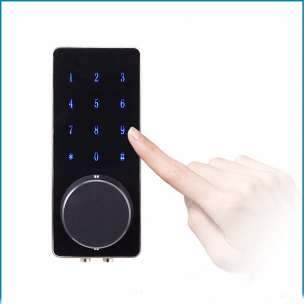 [variant_title] - Mobile Bluetooth Locks Deadbolt Entrance Smart Electronic Digital Door Lock With Key Remote Keypad For home hotels OS8815BLE