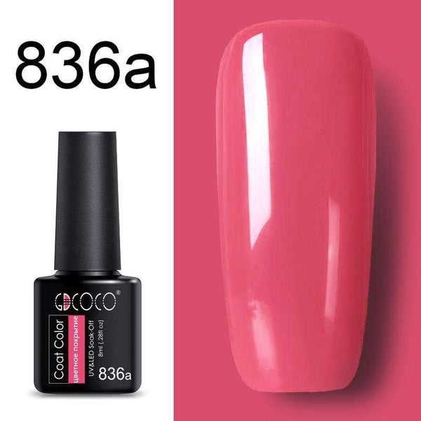 836a - #86102 GDCOCO 2019 New Arrival Primer Gel Varnish Soak Off UV LED Gel Nail Polish Base Coat No Wipe Top Color Gel Polish
