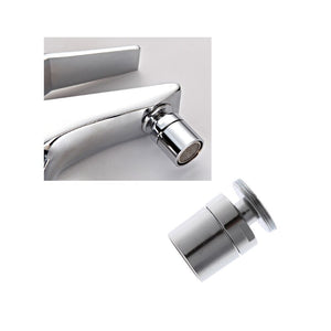 Default Title - HNGCHOIGE Chromed 24mm Brass Adjustable Swivel Water Saving Tap Nozzle Spout Aerator M24 Male