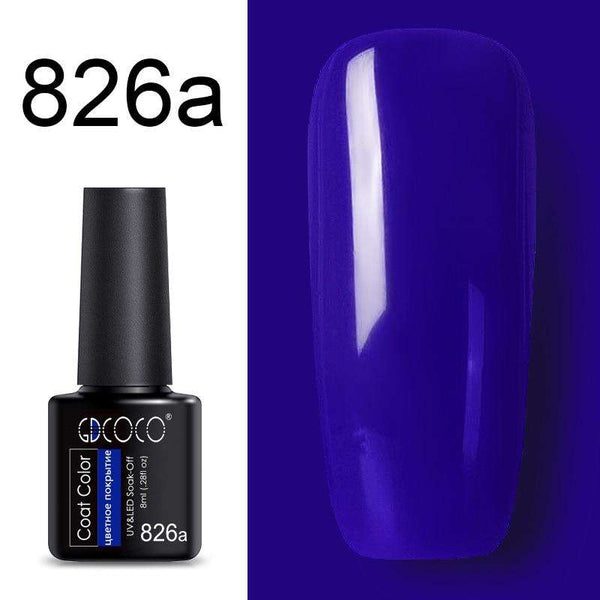 826a - #86102 GDCOCO 2019 New Arrival Primer Gel Varnish Soak Off UV LED Gel Nail Polish Base Coat No Wipe Top Color Gel Polish