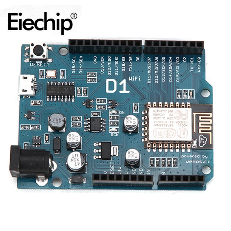 Default Title - ESP8266 for arduino uno wifi shield Smart Electronics ESP-12E D1 WiFi uno based ESP8266 shield for arduino UNO R3 Micro IDE