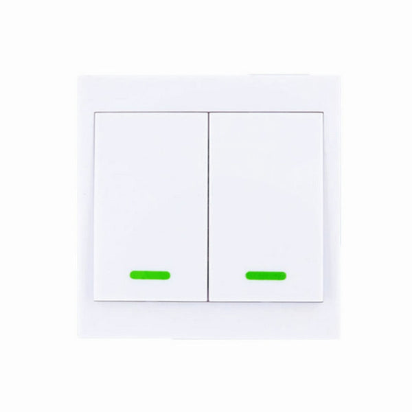 2CH / 315 MHz - 86 Wall Panel Wireless Remote Transmitter 1 2 3 Channel Sticky RF TX Smart For Home Living Room Bedroom 315 / 433 MHz