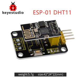 Default Title - Keyestudio ESP-01 DHT11 Temperature and Humidity Module +ESP 8266 WIFI For Arduino