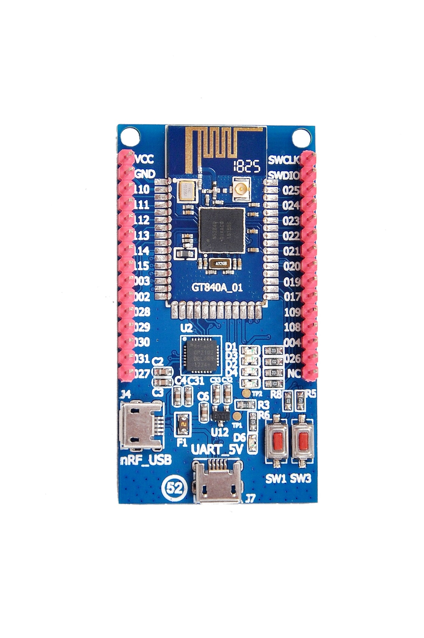 NRF52840 Development Board BREAKOUT Bluetooth 5 MESH ZIGBEE Bluetooth Low  Energy