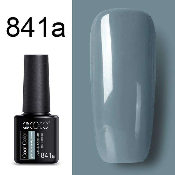 841a - #86102 GDCOCO 2019 New Arrival Primer Gel Varnish Soak Off UV LED Gel Nail Polish Base Coat No Wipe Top Color Gel Polish