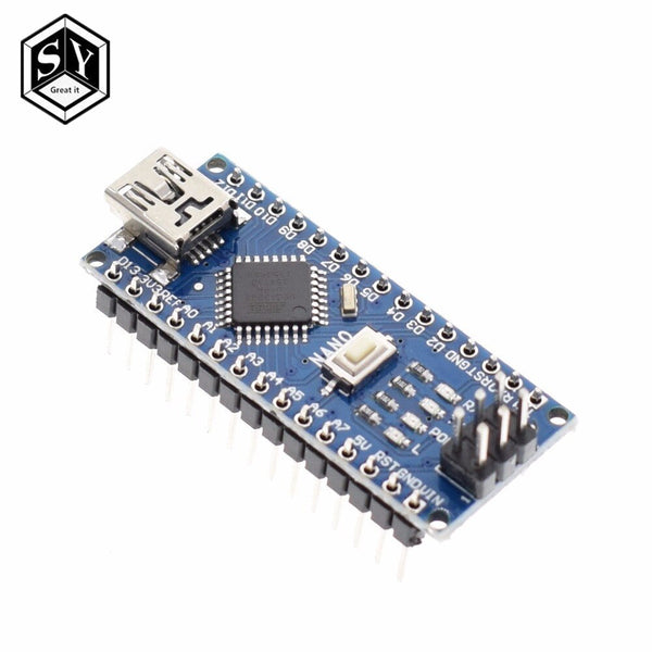 328p-au welding - Nano 1PCS Mini USB With the bootloader Nano 3.0 controller compatible for arduino CH340 USB driver 16Mhz NANO V3.0 Atmega328