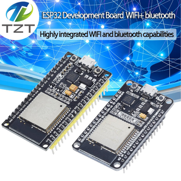 [variant_title] - ESP-32S ESP32 Development Board WiFi Wireless Bluetooth Antenna Module For Arduino 2.4GHz Dual Core ESP32S ESP-32 ESP8266