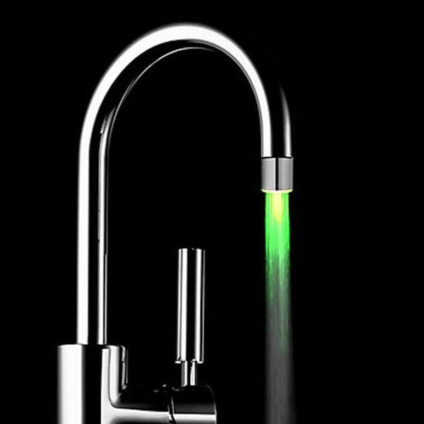 [variant_title] - Romantic 7 Color Change LED Light Shower Head Water Bath Home Bathroom Glow