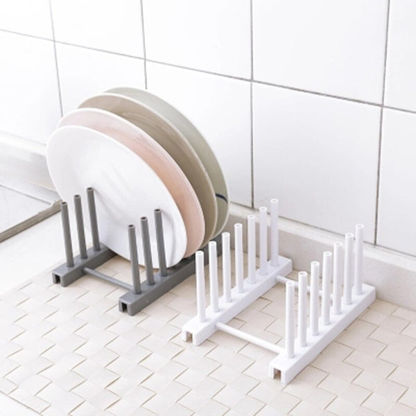 [variant_title] - 1 PCS Kitchen Organizer Pot Lid Rack Spoon Plate Holder Shelf Cooking Dish Tray Rack Stand Kitchen Accessories Home Storage