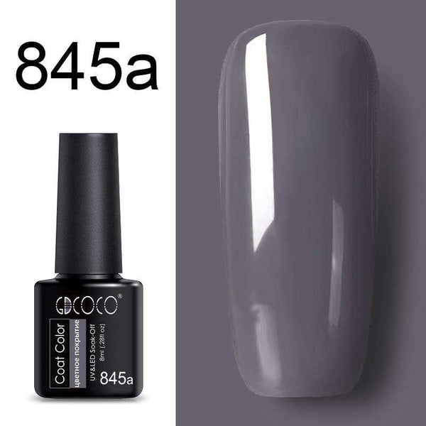 845a - #86102 GDCOCO 2019 New Arrival Primer Gel Varnish Soak Off UV LED Gel Nail Polish Base Coat No Wipe Top Color Gel Polish