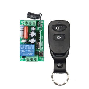 1pcs transmitter - Wireless Remote Control Light Switch 10A Relay Output Radio 220V 1 Channel Receiver Module + 50-500M Transmitter
