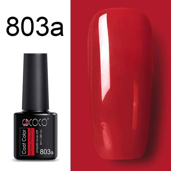 803a - #86102 GDCOCO 2019 New Arrival Primer Gel Varnish Soak Off UV LED Gel Nail Polish Base Coat No Wipe Top Color Gel Polish