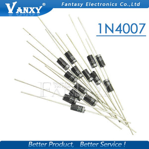Default Title - 100PCS 1N4007 1N5819 1N4001 UF4007 FR107 FR207 DO-41 High quality Rectifier Diode