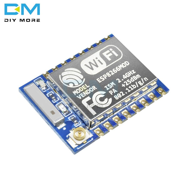 only wifi Module - ESP8266 ESP-07 ESP07 Wifi Serial Transceiver Wireless Board Module 3.3V-5V 8N1 TTL UART Port Controller for Arduino UNO R3