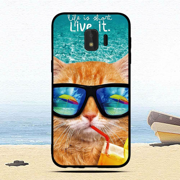 "For Samsung Galaxy J2 Core 5.0"" Case Cute Printed TPU Cover For Samsung J260 J260F J 2 2J J2Core mobile phone cases coque"
