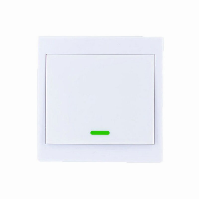 1CH / 315 MHz - 86 Wall Panel Wireless Remote Transmitter 1 2 3 Channel Sticky RF TX Smart For Home Living Room Bedroom 315 / 433 MHz