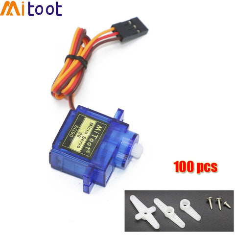 [variant_title] - 5/10/20/50/100 pcs/lot SG90 9G Micro Servo Motor For Robot 6CH RC Helicopter Airplane Controls for Arduino Wholesale