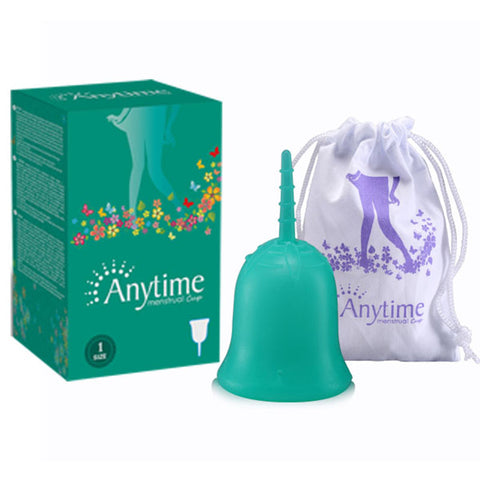 [variant_title] - Anytime Feminine Hygiene Lady Cup Menstrual Cup Wholesale Reusable Medical Grade Silicone For Women Menstruation