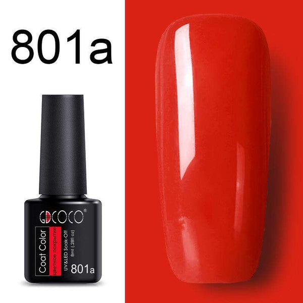 801a - #86102 GDCOCO 2019 New Arrival Primer Gel Varnish Soak Off UV LED Gel Nail Polish Base Coat No Wipe Top Color Gel Polish